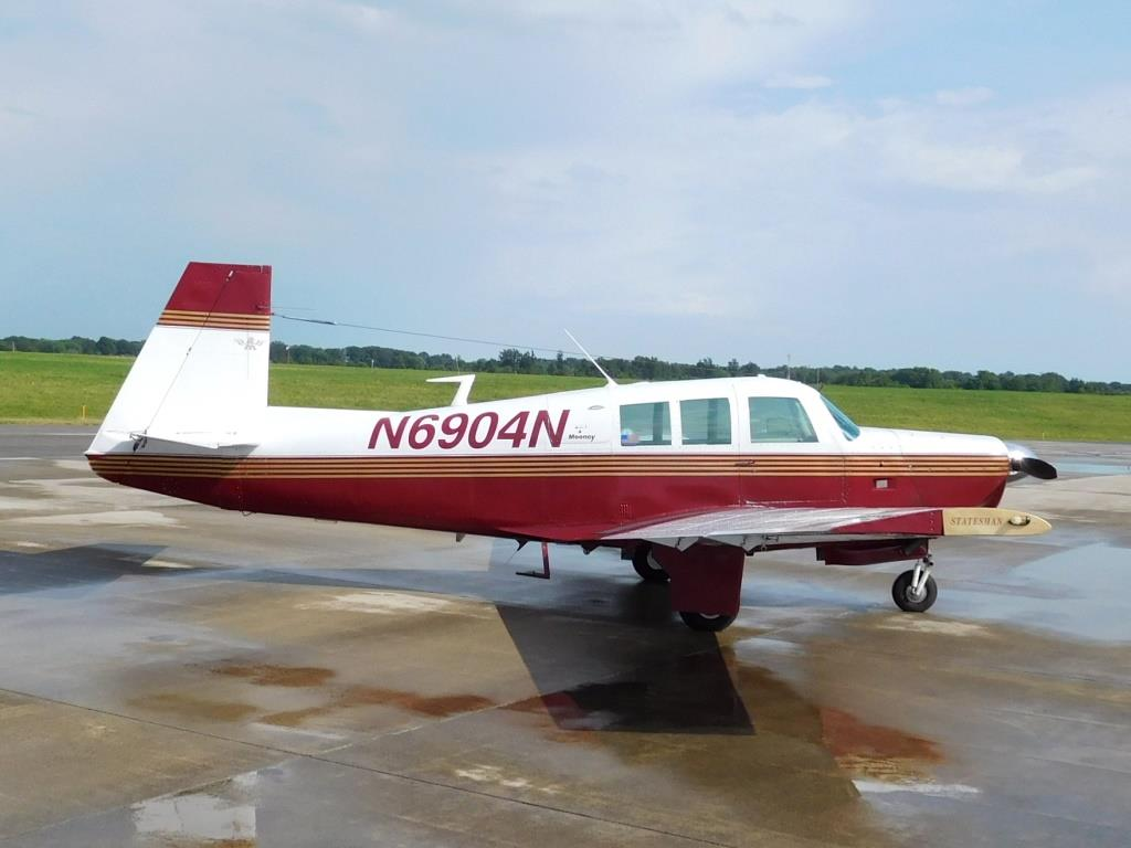 1968 Mooney Statesman M20G - N6904N