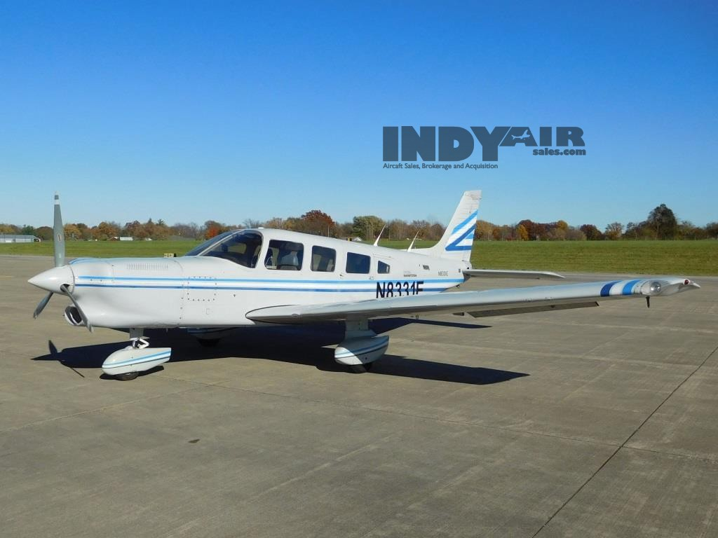 1981 Piper Turbo Saratoga - N8331E
