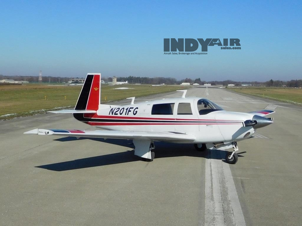 1977 Mooney M20J- N201FG