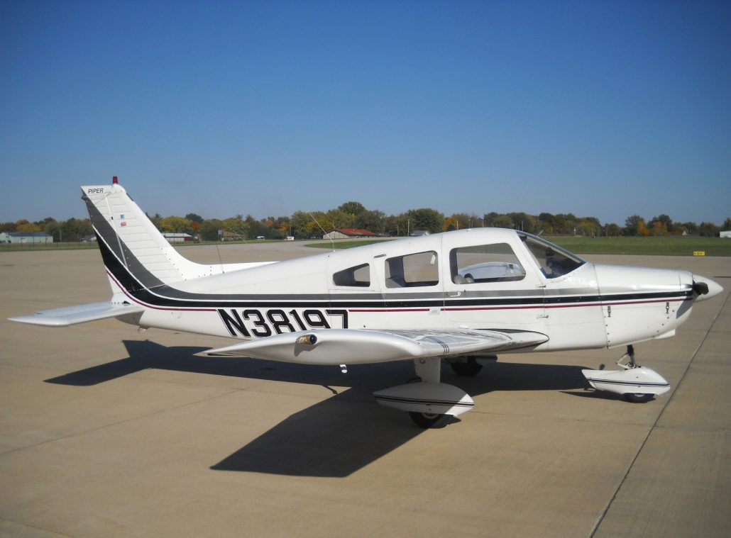 1977 Piper Warrior II – N38197