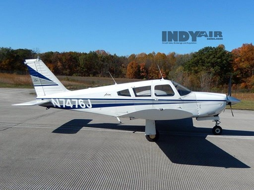 1968 Piper Arrow 180- N7476J